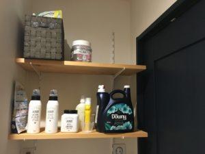 洗面 可動棚 DIY 集成材 壁掛け