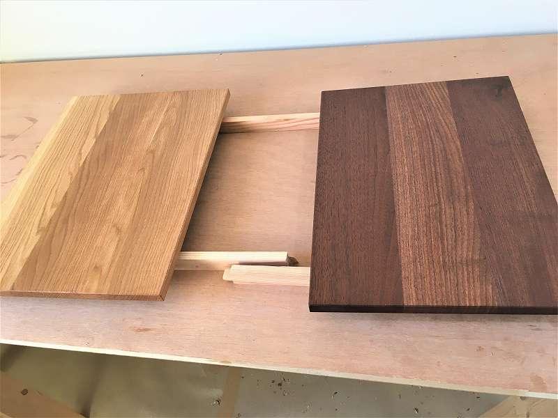 ランチョンボード 木工 作品 DIY ウォールナット オーク
