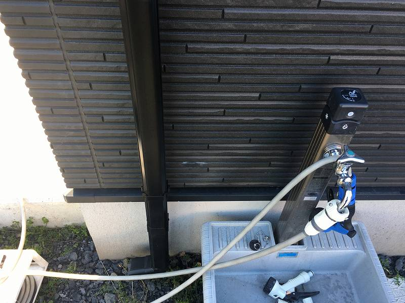 外壁 補修痕 汚い