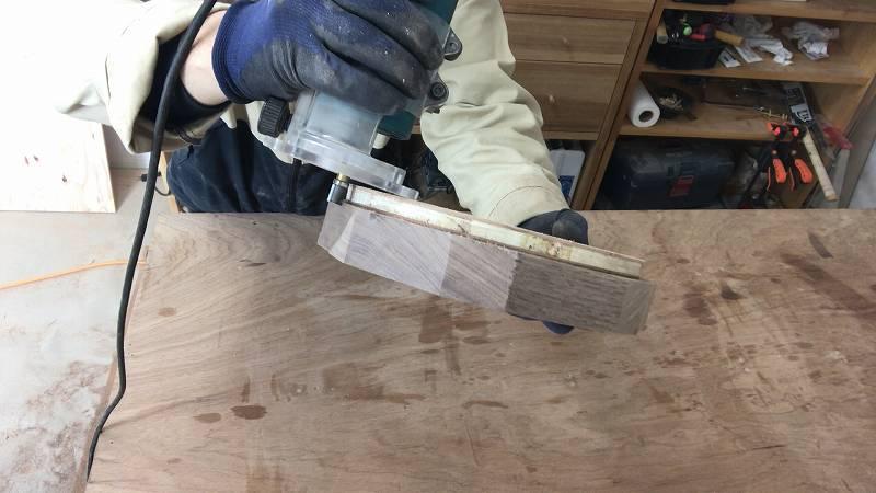 ガイドベアリング付きストレートビット 円切り トリマー 加工 DIY
