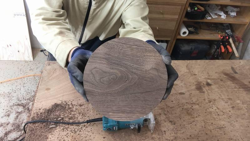 丸型 時計 作り方 トリマー DIY